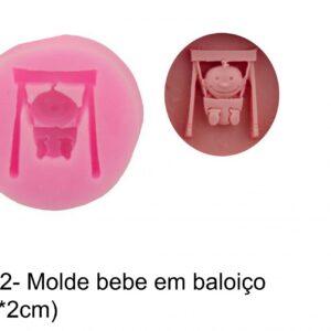 J 112-  Molde bebé Baloiço