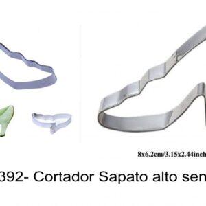 J 1392- Cortador Sapato alto senhora
