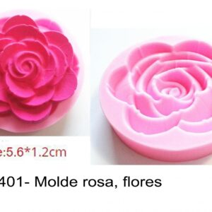 J 1401- Molde rosa, flores