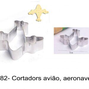 J 1882- Cortadores avião, aeronave, avioes