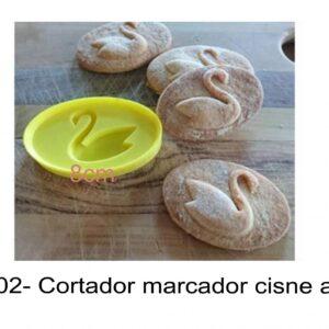 J 2302- Cortador marcador cisne amor, love