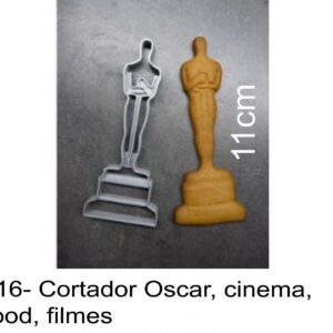 J 2516- Cortador Oscar, cinema, hollywood, filmes