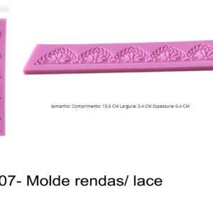 J 907- Molde rendas/ lace