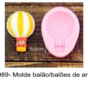 J 989- Molde balão/balões de ar quente